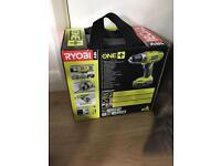 RYOBI One+ LLCDI18022 18 Volt Combi Starter Kit