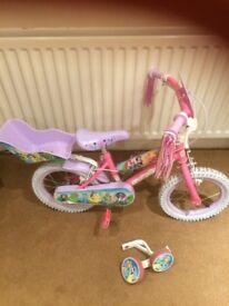 14inch princess bike