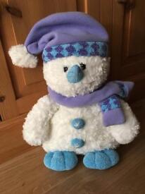 "Snowman - Soft Toy 15"""