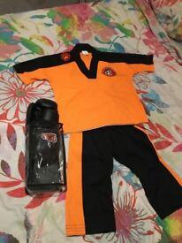 Tiger cubs taekwondo suit