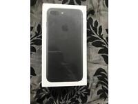 IPhone 7 Plus black brand new