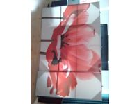 Very large 2x canvas pictures