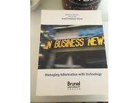 Managing information with Technology - Chris Evans Brunel Business School