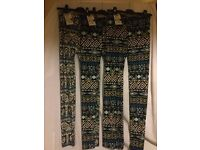 "Brand new with tags. 3 pairs, ladies ""Lee Cooper"" leggings (aztec style print)"