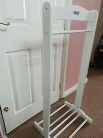 Children's role play clothes rail