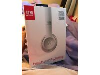 Beats Solo 3 Wireless Silver, unopened headphones