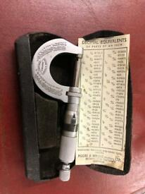 Beautiful vintage engineers tool in original case