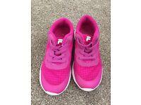 Fila trainers size10