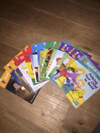 Biff and chip read at home books complete series 1-5