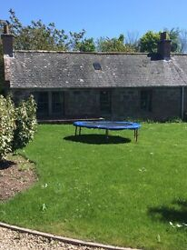 FOR RENTAL 3 BEDROOM END TERRACED COTTAGE FASQUE HOUSE ESTATE FETTERCAIRN ABERDEENSHIRE