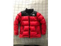 Age 10-12 boys North Face Jacket . Great condition