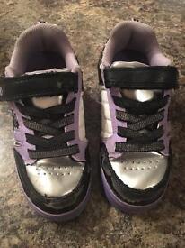 Girls size 13 heelys