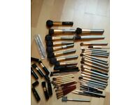 Job Lot of 57 Lancome Make-up Brushes Eyes Cheeks Bundle
