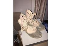 Brand new river island espadrilles size 5