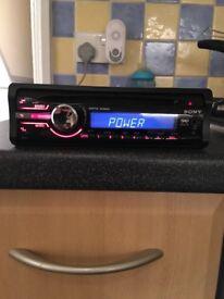Sony xplod car stereo