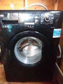 Beko ,black washing machine,