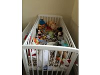 Baby new cot bed