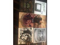 Record vinyl joblot of thrash metal hardcore punk lps