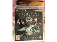PS3 game. DVD INJUSTICE. for sale.