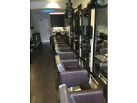 Fully Fitted Hair and Beauty Salon for Lease. Situated in busy Fenwick Road Giffnock Glasgow