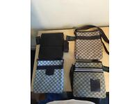 Gucci Messenger bags LV wallets Burberry manbags Side bags Armani pouches designer