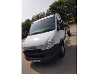 Low miles 62 reg Iveco chassis cab Lwb automatic (ideal for tipper or recovery) no vat