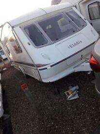 caravan 4 /5 berth elddis