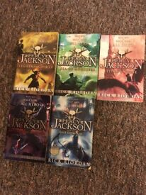 Percy Jackson book collection