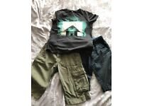 Boys summer bundle age 9-10 Next, Zara M&S