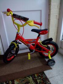 "Child's Avigo Dinotec 12 "" wheel bike"