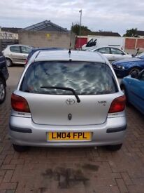 Toyota Yaris VVTI 1.0 for urgent sale @ just for £750