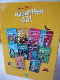 Enid Blyton Naughtiest girl book pack