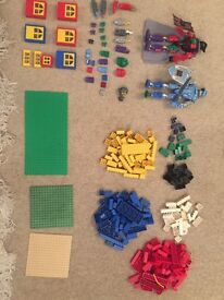 Lego Building Blocks and Lego Knights