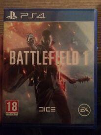 Battlefield 1 on ps4