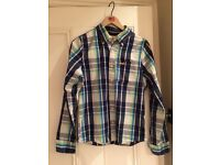 Holister Mens Checked Shirt - Size Small