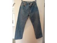 Genuine Levi's 501 Denim Jeans.