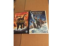 2x Percy Jackson children's DVD films