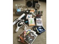 DELUXE BUNDLE - Nintendo Wii Console + Wii Fit Board + Skylanders + Games + Lots More Kids Toys