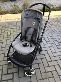 Bugaboo Bee, Grey with Limited Edition Matt Black Frame