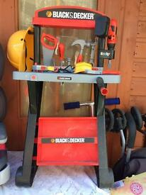 Kids Black n Decker Work Bench