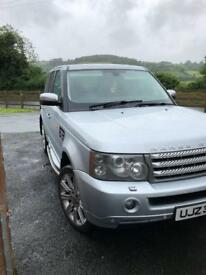 Range Rover sport jeep 4x4 Audi Mercedes pick up car