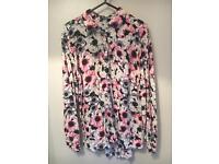 Floral shirt size 12