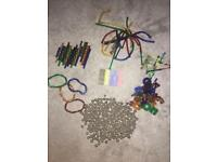 Large Selection of MAGNETIX Magnets (350 pieces), Children's Toy, Good Condition!