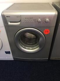 ***Silver Beko 6kg 1200spin A+ washing machine***Free Delivery**Fitting**Removal
