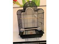BARGAIN. BIRD CAGE WITH ALL ACCESSORIES INCLUDED. LOCAL DELIVERY POSSIBLE