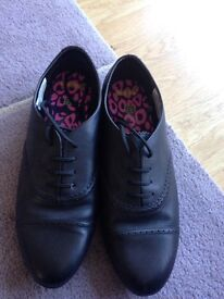 Girls black school shoes .. Brand new