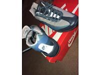 Grey and navy blue nike air max 95s