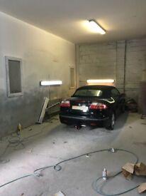 Existing car repair, paint & bodyshop for rent