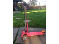 Child's scooter.