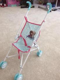 Dolls buggy frozen